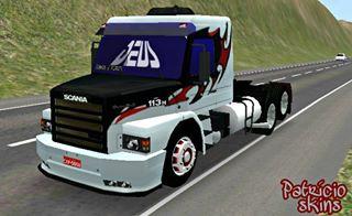 Skin TNT para Scania R580 | Grand Truck Simulator 2